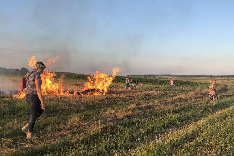 У Володимир-Волинському районі виявили трьох нічних паліїв