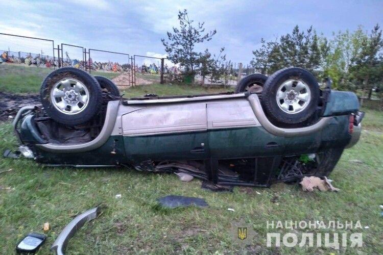 Водій впав у кому внаслідок ДПТ на Рівненщині