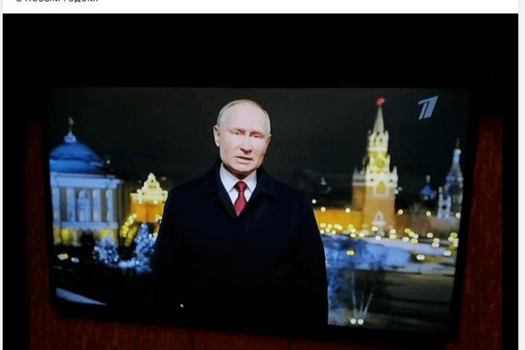 Депутат української міськради святкував Новий рік за московським часом та дивився привітання Путіна
