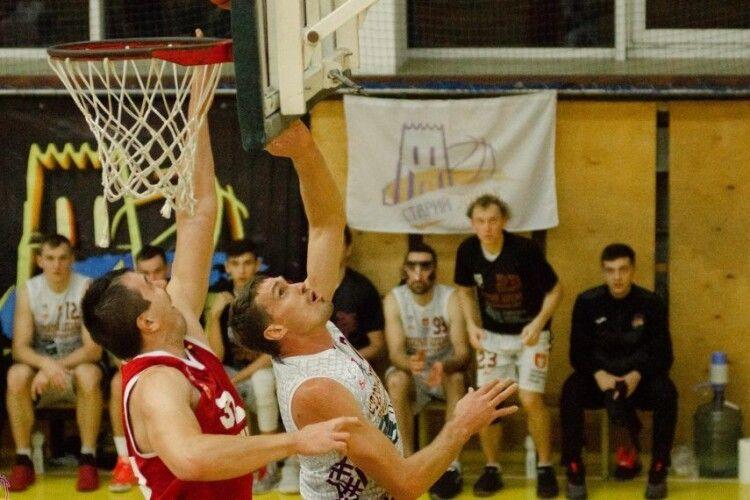 Луцькі баскетболісти зробили перший крок до бронзи