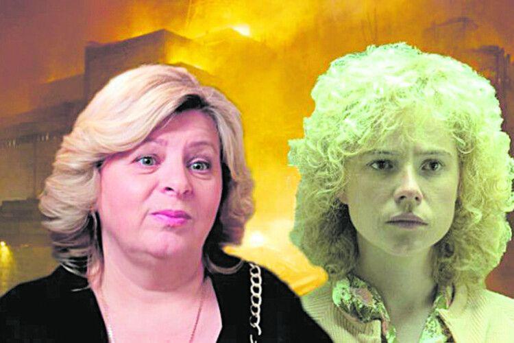 Головна героїня серіалу «Чорнобиль» продавала пиріжки, аби вижити змалим сином (Відео)