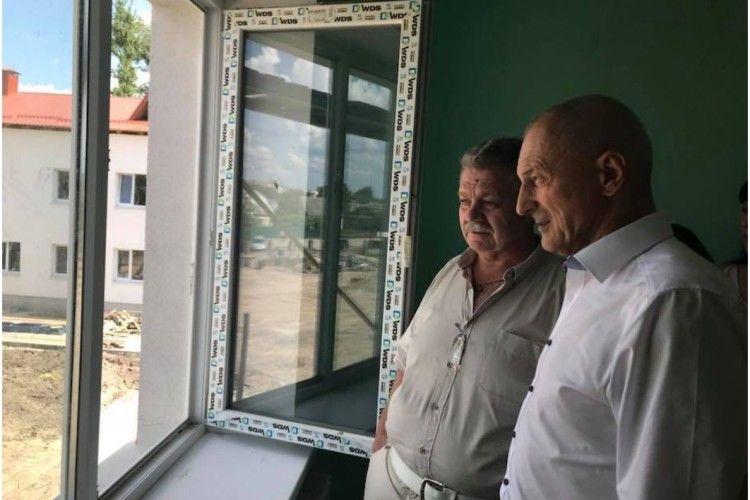 Голова облдержадміністрації Олександр Савченко: «Садочок на стадії завершення»