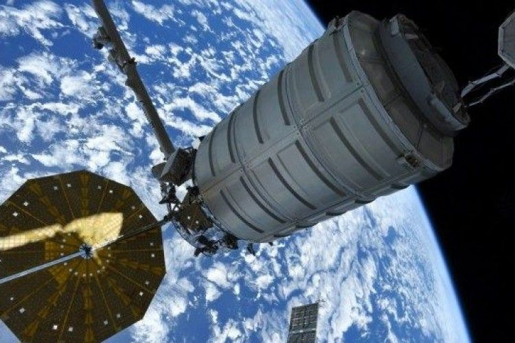 Таким побачив Чорне море астронавт із космосу