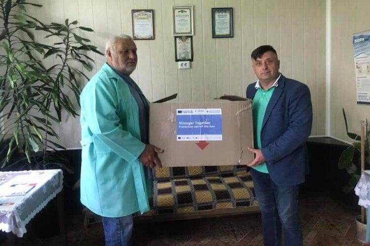 Поромівський медичний центр отримав «скриньку здоров'я»
