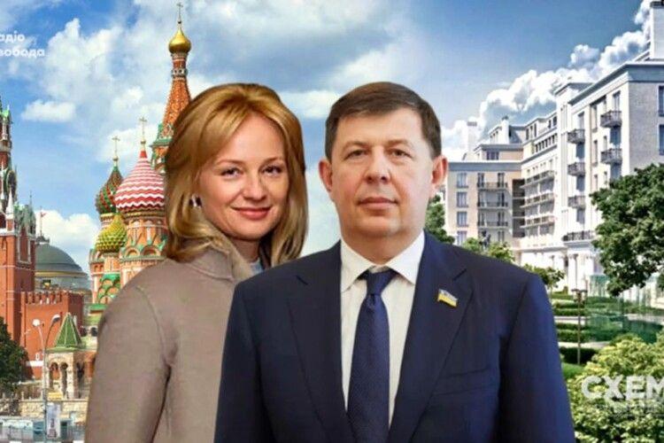 «Цивільна» дружина Тараса Козака купила квартиру вМоскві за13мільйонів доларів