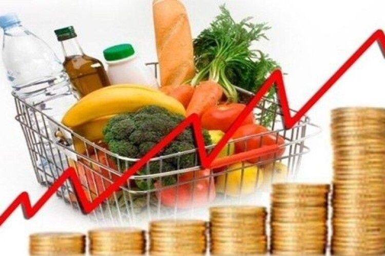 У серпні ціни в Україні трішки впали, а на Волині крапельку зросли