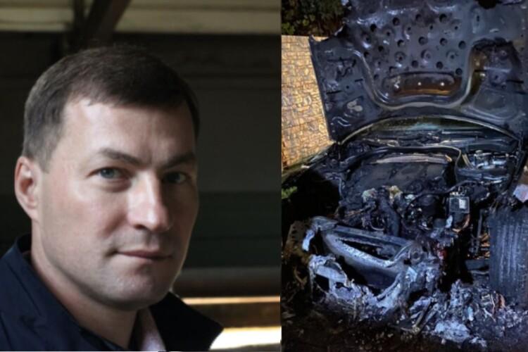 У Рівному кандидату до облради від «Слуги народу» спалили машину