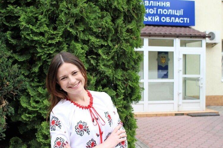 Ольга Бузулук йде з посади прес-секретаря Патрульної поліції Волинської області