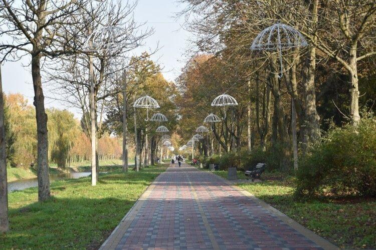 У Центральному парку в Луцьку встановлять 80 відеокамер