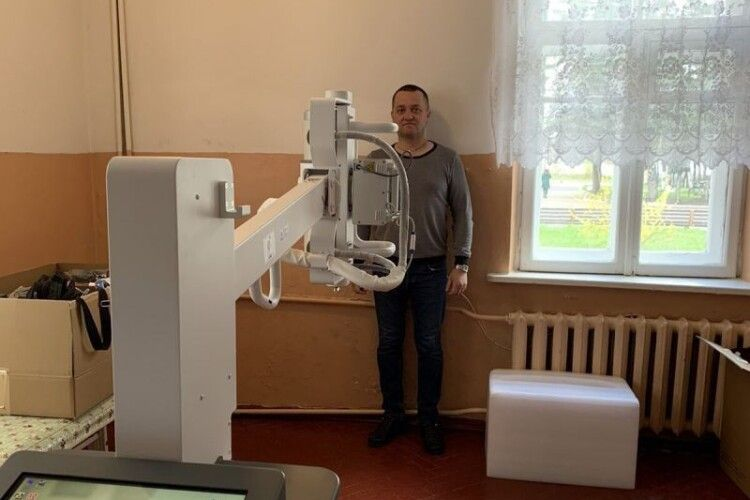 Лікарня у волинському містечку придбала рентген вартістю понад 2 мільйони гривень