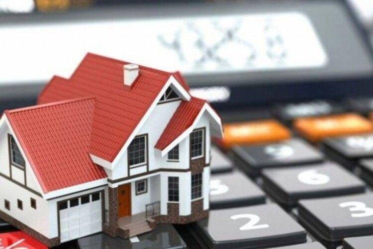 На Волині громади отримали в розпорядження майже в півтора рази більше податку на нерухомість