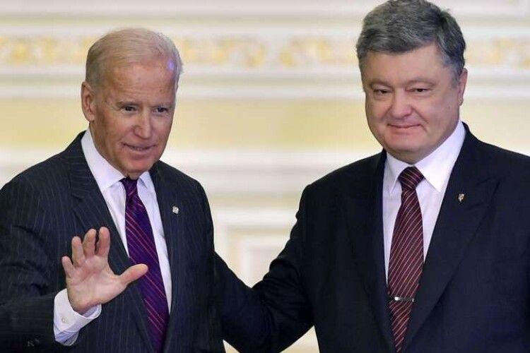 Порошенко запропонував Байдену згадати Україну в інавгураційній промові – Єлісєєв