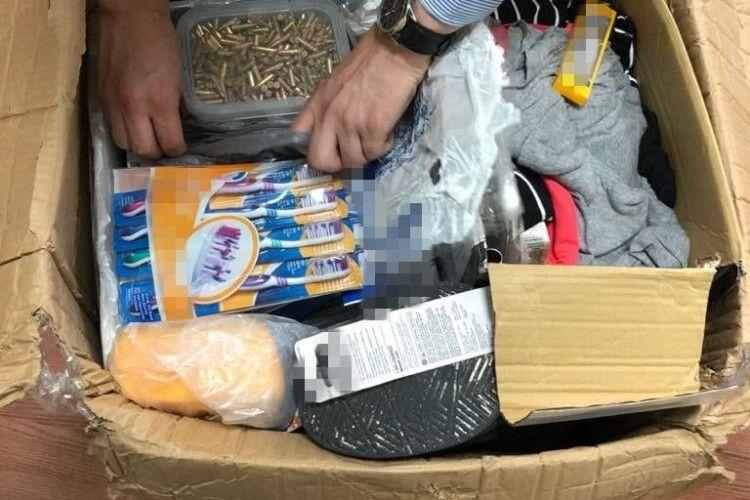 В Україну з Америки нелегально переправляли набої до вогнепальної зброї