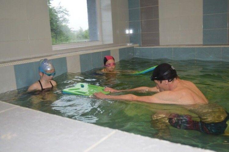 У Ковелі відкрили приватний дитячий басейн (Фото)