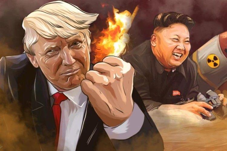 Трамп – Кім Чен Ину: «А в мене більший!»
