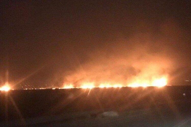 Село на Львівщині залишилось без газу через підпал сухостою