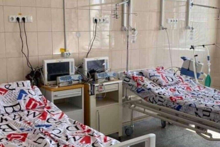 В ковідному відділенні Волинської обласної лікарні кисневої підтримки потребує майже сотня пацієнтів
