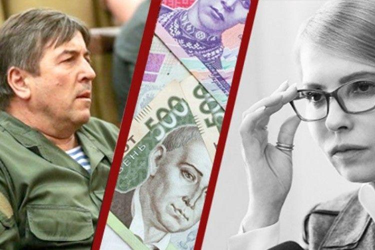 Як Тимошенко передала Тимошенку 5мільйонів*