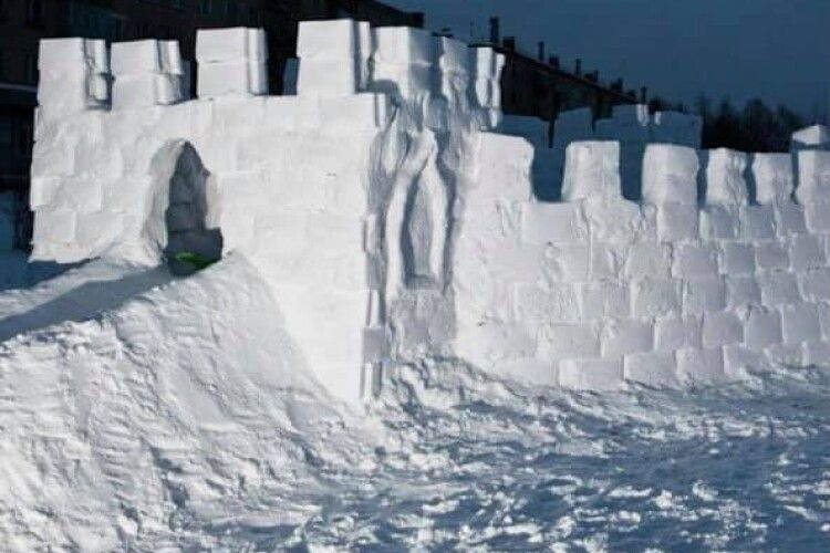 У Ковелі зі снігу будуватимуть містечко