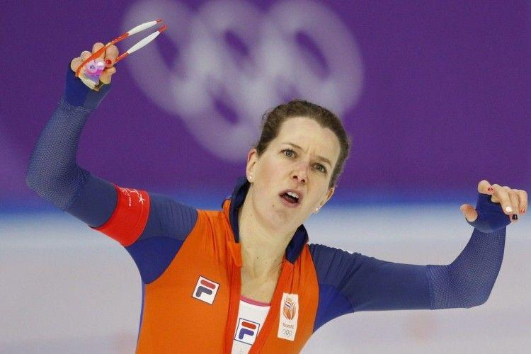 Ковзанярка з Нідерландів стала п'ятиразовою олімпійською чемпіонкою
