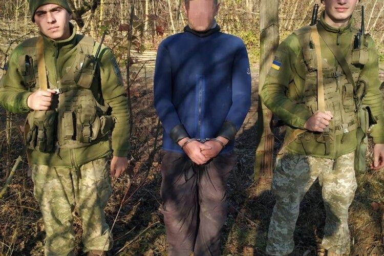 На Волині спіймали контрабандистів в гідрокостюмах (Фото)