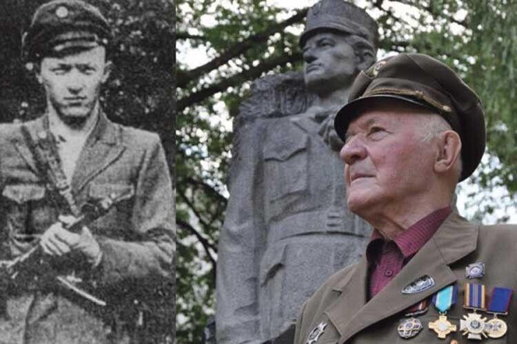 Легендарний сотенний УПА Мирослав Симчич, який понад 32роки провів усовєцьких таборах, у97зібрався вполіт