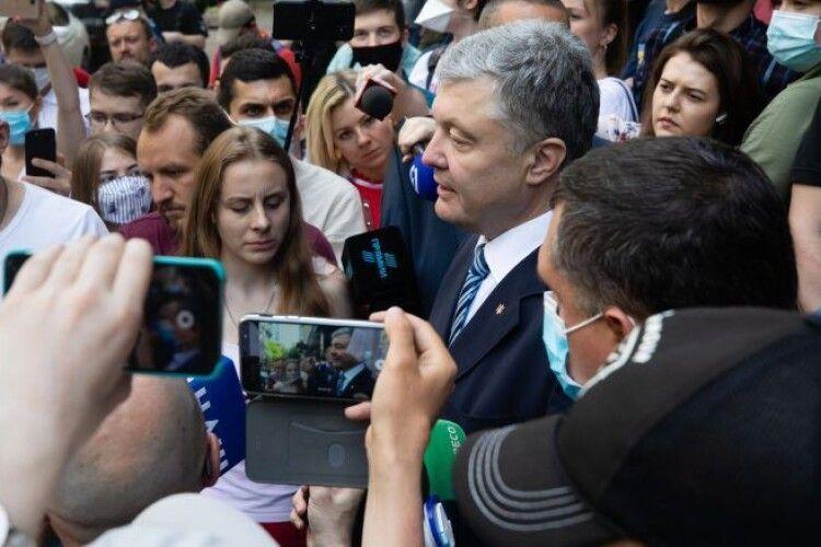 Петро Порошенко після візиту до Офісу Генпрокурора: по сьогоднішніх діях Венедіктова отримала чітку вказівку від Зеленського