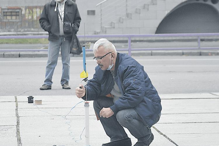 Вперше за тридцять років у Луцьку злітали ракети