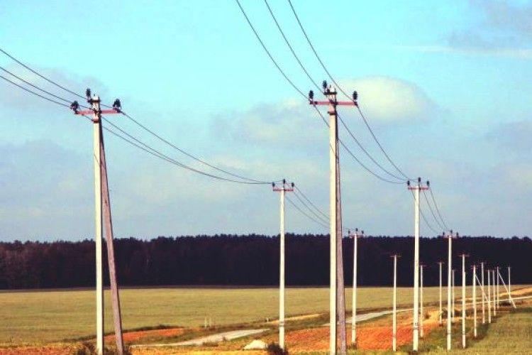 На Волині украли 880 метрів електрокабелю зі стовпів