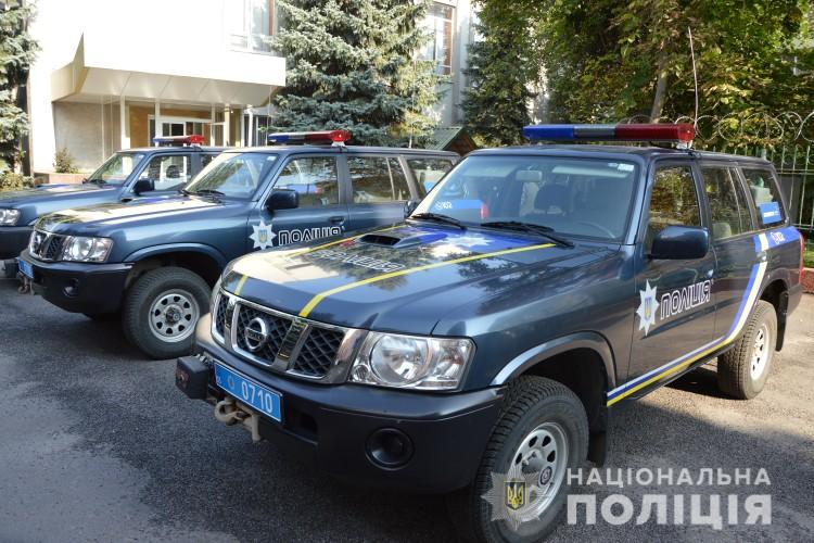 Волинська  поліція отримала позашляховики, щоб ловити бурштинокопачів