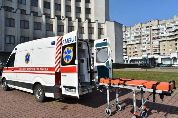 Волинським медикам доручили тестувати новенькі «Volkswagen Crafter» (Фото)