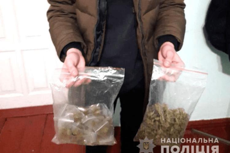 21-річному жителю Рівненщини загрожує до п'яти років за зберігання марихуани