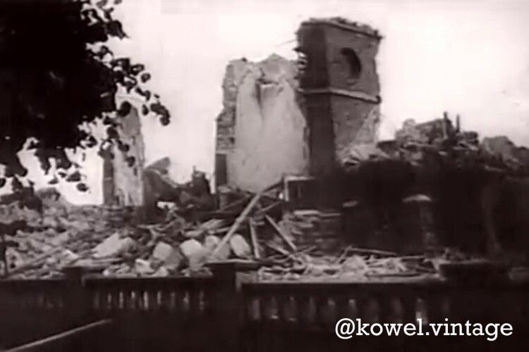 У мережі показали, як виглядав величний ковельський костел, зруйнований в часи війни (Фото)