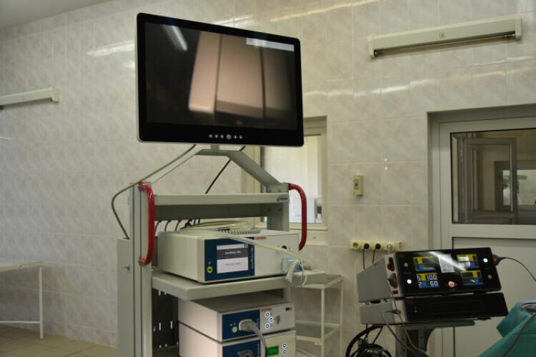 У міській клінічній лікарні з'явився новий унікальний апарат за 2,5 мільйона гривень