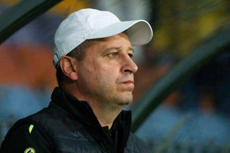 Юрій Вернидуб пішов з посади головного тренера солігорського «Шахтаря»