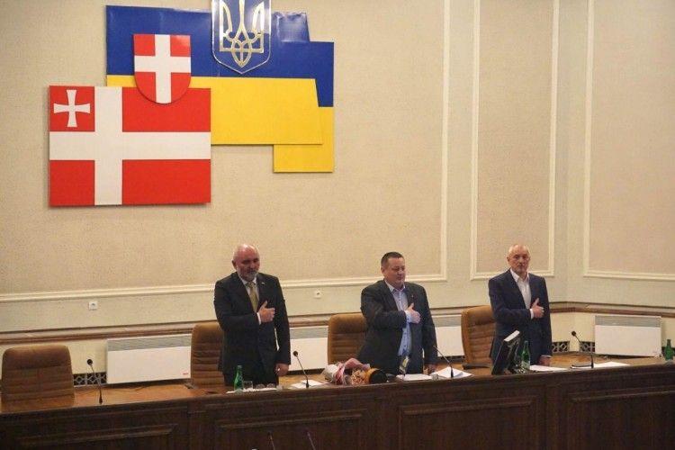 Голова Волинської обласної ради не приїхав на бюджетну сесію