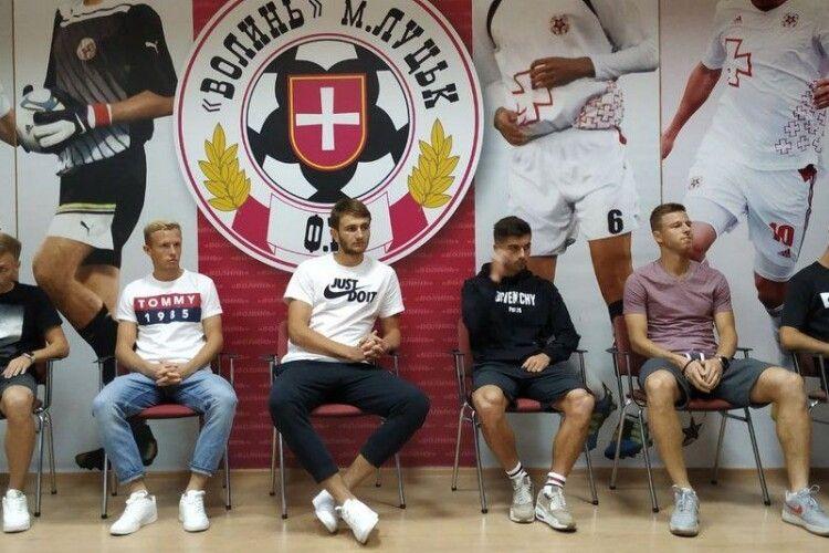 У ФК «Волинь» вісім нових футболістів. Хто вони