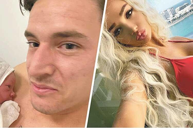 Українка з Playboy подарувала легіонерові «Динамо» сина