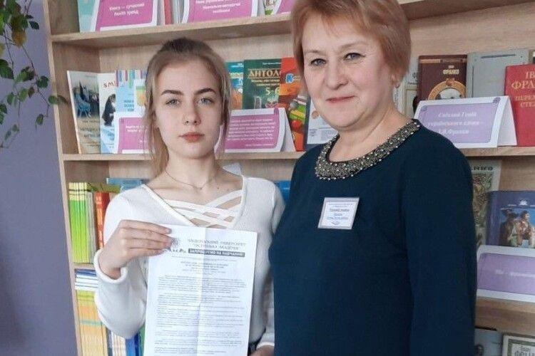 Пише вірші і наукові роботи: дев'ятикласниця з Волині отримала запрошення навчатися у престижному ВНЗ