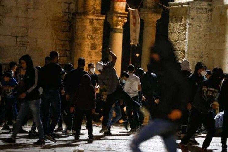 На Храмовій горі в Єрусалимі сталися сутички, є понад 200 постраждалих