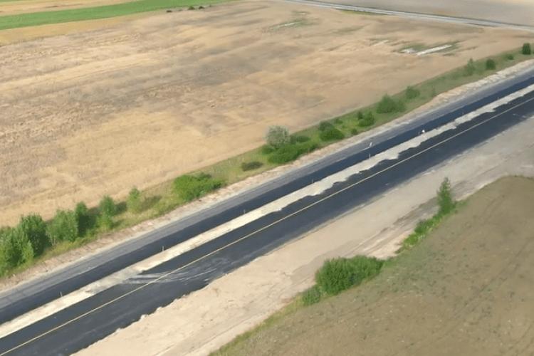 На волинській трасі відкрили новозбудований проїзд з двома смугами руху (Відео)