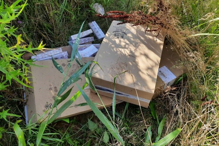 Біля кордону з Білоруссю «тютюнові ділки» знову понесли втрати (Фото, відео)