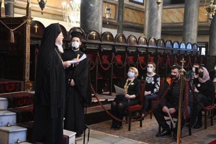 Вселенський Патріарх відслужив панахиду за українцями, які загинули під час Великого голоду