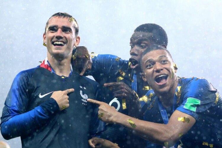 Один із футболістів збірної Франції продав на аукціоні золоту медаль за перемогу на ЧС-2018