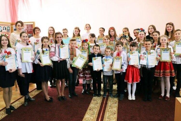 На Камінь-Каширщині визначено переможців конкурсу читців творів Лесі Українки