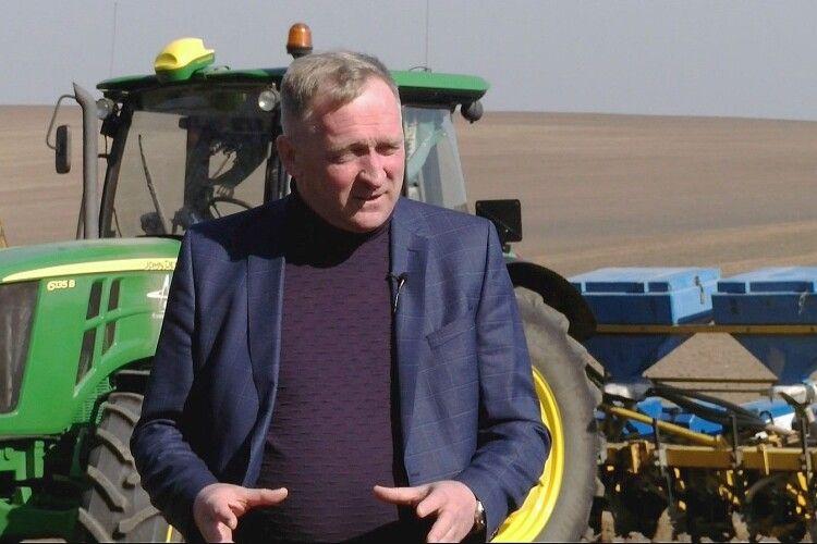 Волинський аграрій Віктор Шумський: «Основною проблемою зараз мав би бути не пошук медичних масок, а збереження вологи в ґрунті» (Відео, фото)