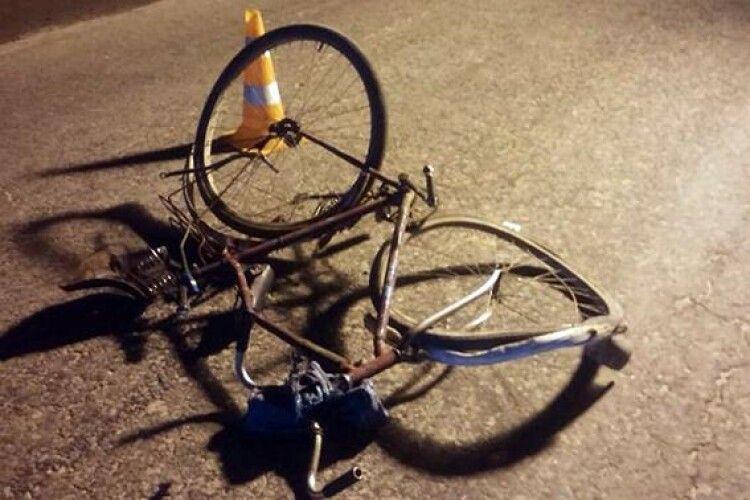 Востаннє сів насвій велосипед