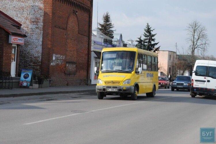 У маршрутках Володимира-Волинського навчатимуть історії міста