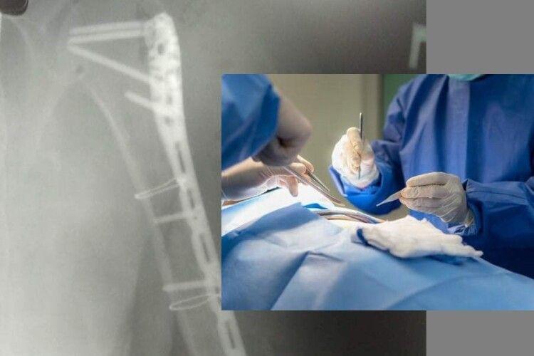 Володимирські медики провели успішну травматологічну операцію
