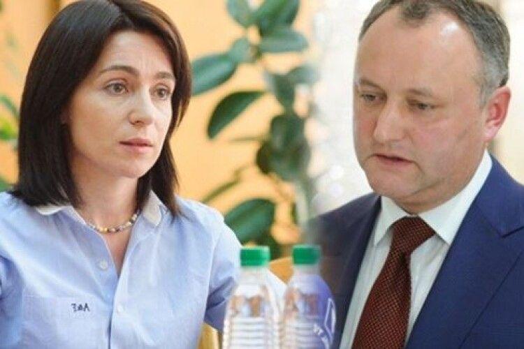В Луцьку ще рахують, а в Молдові вже порахували: проєвропейська Майа Санду перемагає проросійського Ігоря Додона